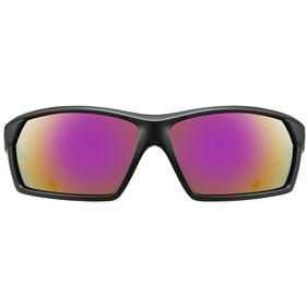 UVEX Sportstyle 225 Occhiali, black pink mat/mirror pink